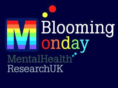 Image of Blooming Monday hosted by Mental Health Research UK logo
